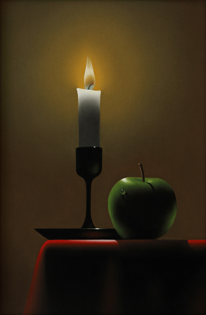 La pomme verte de David Decobert